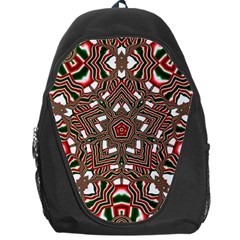 Christmas Kaleidoscope Backpack Bag