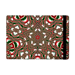 Christmas Kaleidoscope iPad Mini 2 Flip Cases