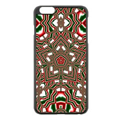 Christmas Kaleidoscope Apple Iphone 6 Plus/6s Plus Black Enamel Case
