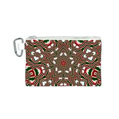 Christmas Kaleidoscope Canvas Cosmetic Bag (S)