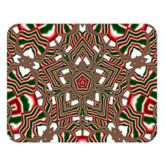 Christmas Kaleidoscope Double Sided Flano Blanket (Large)