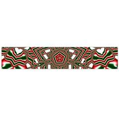 Christmas Kaleidoscope Flano Scarf (Large)