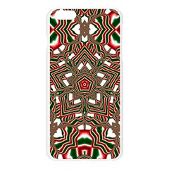 Christmas Kaleidoscope Apple Seamless iPhone 6 Plus/6S Plus Case (Transparent)