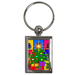 Christmas Ornaments Advent Ball Key Chains (Rectangle)