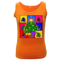 Christmas Ornaments Advent Ball Women s Dark Tank Top