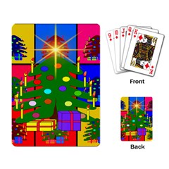 Christmas Ornaments Advent Ball Playing Card