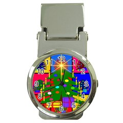 Christmas Ornaments Advent Ball Money Clip Watches