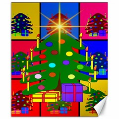 Christmas Ornaments Advent Ball Canvas 8  x 10