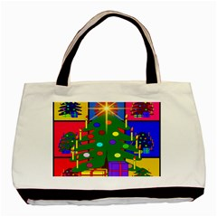 Christmas Ornaments Advent Ball Basic Tote Bag (Two Sides)