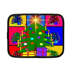Christmas Ornaments Advent Ball Netbook Case (Small)
