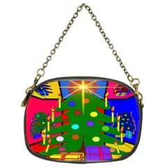 Christmas Ornaments Advent Ball Chain Purses (One Side)
