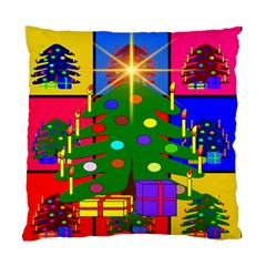 Christmas Ornaments Advent Ball Standard Cushion Case (two Sides)