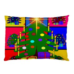 Christmas Ornaments Advent Ball Pillow Case