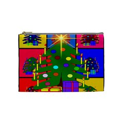 Christmas Ornaments Advent Ball Cosmetic Bag (medium)