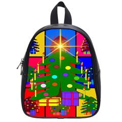 Christmas Ornaments Advent Ball School Bags (Small)