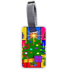 Christmas Ornaments Advent Ball Luggage Tags (One Side)