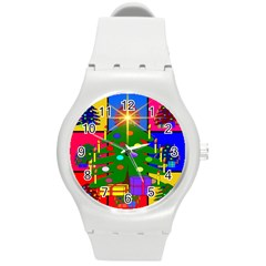 Christmas Ornaments Advent Ball Round Plastic Sport Watch (m)