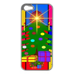Christmas Ornaments Advent Ball Apple iPhone 5 Case (Silver)