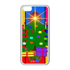 Christmas Ornaments Advent Ball Apple Iphone 5c Seamless Case (white)