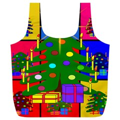 Christmas Ornaments Advent Ball Full Print Recycle Bags (l)