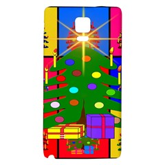 Christmas Ornaments Advent Ball Galaxy Note 4 Back Case