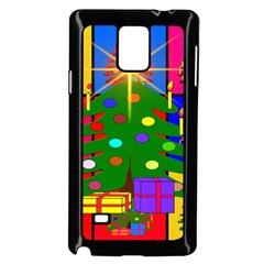Christmas Ornaments Advent Ball Samsung Galaxy Note 4 Case (Black)