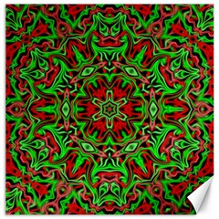 Christmas Kaleidoscope Pattern Canvas 20  x 20