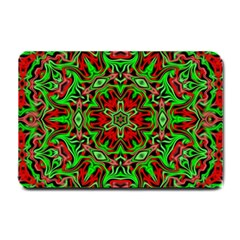 Christmas Kaleidoscope Pattern Small Doormat