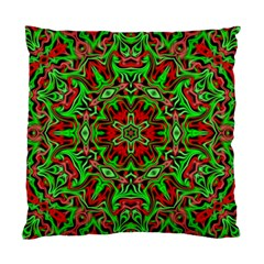Christmas Kaleidoscope Pattern Standard Cushion Case (Two Sides)