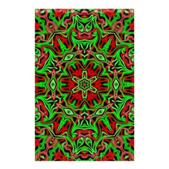 Christmas Kaleidoscope Pattern Shower Curtain 48  x 72  (Small)