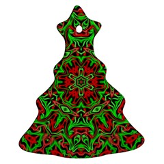 Christmas Kaleidoscope Pattern Ornament (Christmas Tree)
