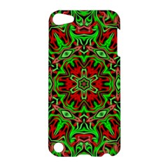 Christmas Kaleidoscope Pattern Apple iPod Touch 5 Hardshell Case