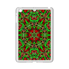 Christmas Kaleidoscope Pattern Ipad Mini 2 Enamel Coated Cases