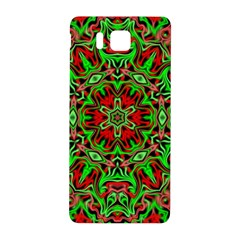 Christmas Kaleidoscope Pattern Samsung Galaxy Alpha Hardshell Back Case