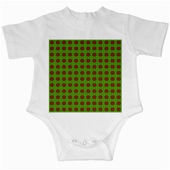 Christmas Paper Wrapping Patterns Infant Creepers