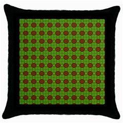 Christmas Paper Wrapping Patterns Throw Pillow Case (Black)