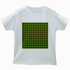 Christmas Paper Wrapping Patterns Kids White T-Shirts