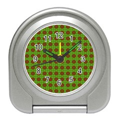 Christmas Paper Wrapping Patterns Travel Alarm Clocks