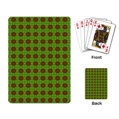 Christmas Paper Wrapping Patterns Playing Card