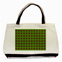 Christmas Paper Wrapping Patterns Basic Tote Bag