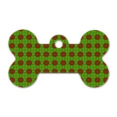 Christmas Paper Wrapping Patterns Dog Tag Bone (Two Sides)