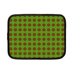 Christmas Paper Wrapping Patterns Netbook Case (small)