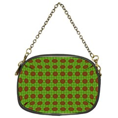 Christmas Paper Wrapping Patterns Chain Purses (One Side)