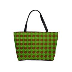 Christmas Paper Wrapping Patterns Shoulder Handbags