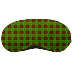 Christmas Paper Wrapping Patterns Sleeping Masks