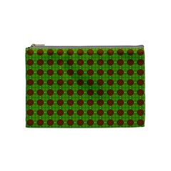 Christmas Paper Wrapping Patterns Cosmetic Bag (Medium)