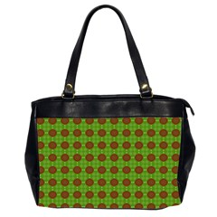 Christmas Paper Wrapping Patterns Office Handbags (2 Sides)