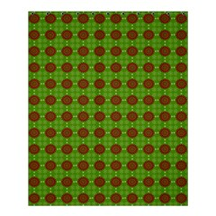 Christmas Paper Wrapping Patterns Shower Curtain 60  x 72  (Medium)