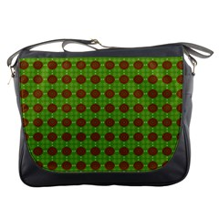 Christmas Paper Wrapping Patterns Messenger Bags