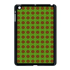 Christmas Paper Wrapping Patterns Apple Ipad Mini Case (black)